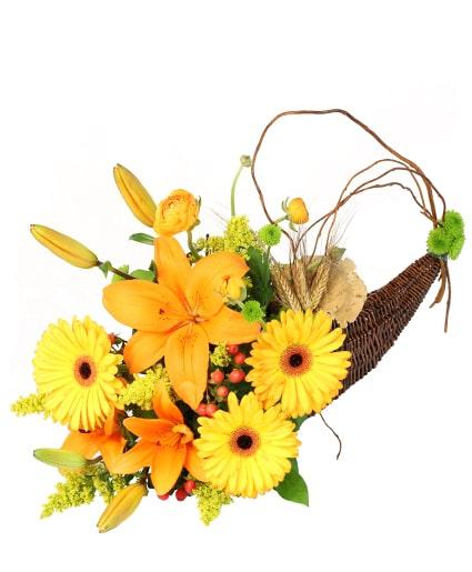 Lion S Harvest Cornucopia Thanksgiving Flower Shop Network