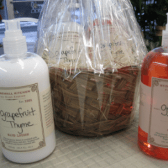 Kitchen Hand Soap Armoire Stonewall And Lotion Grapefruit Thyme Gift Basket