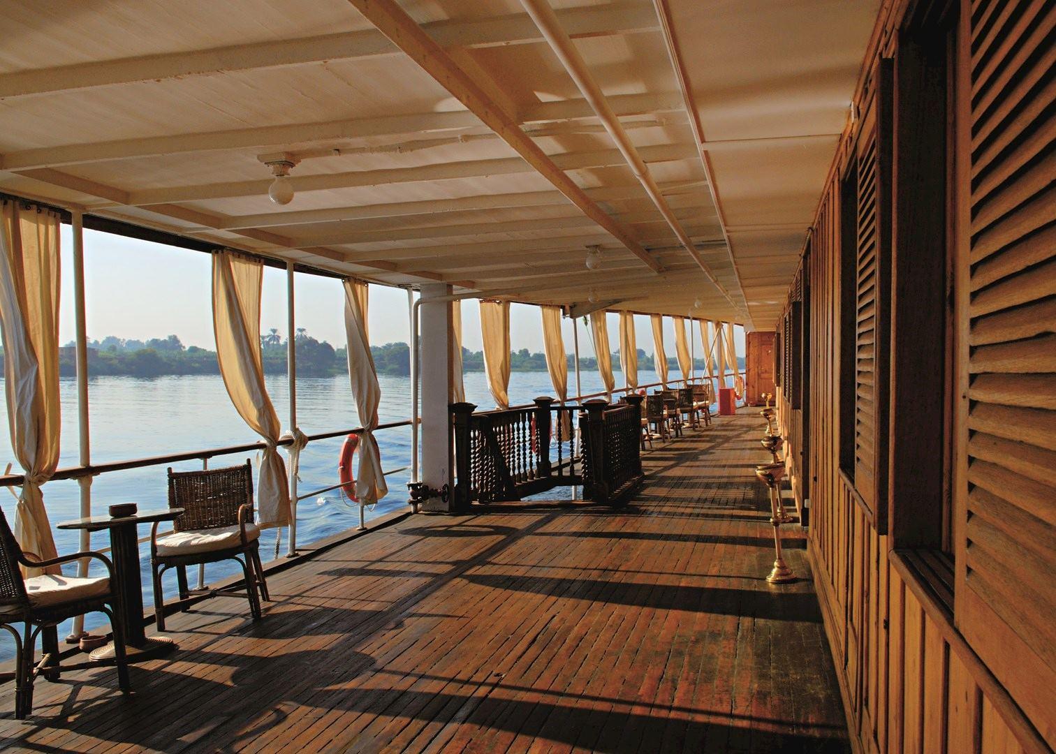 Steam Ship Sudan  Egypt Cruises  Audley Travel