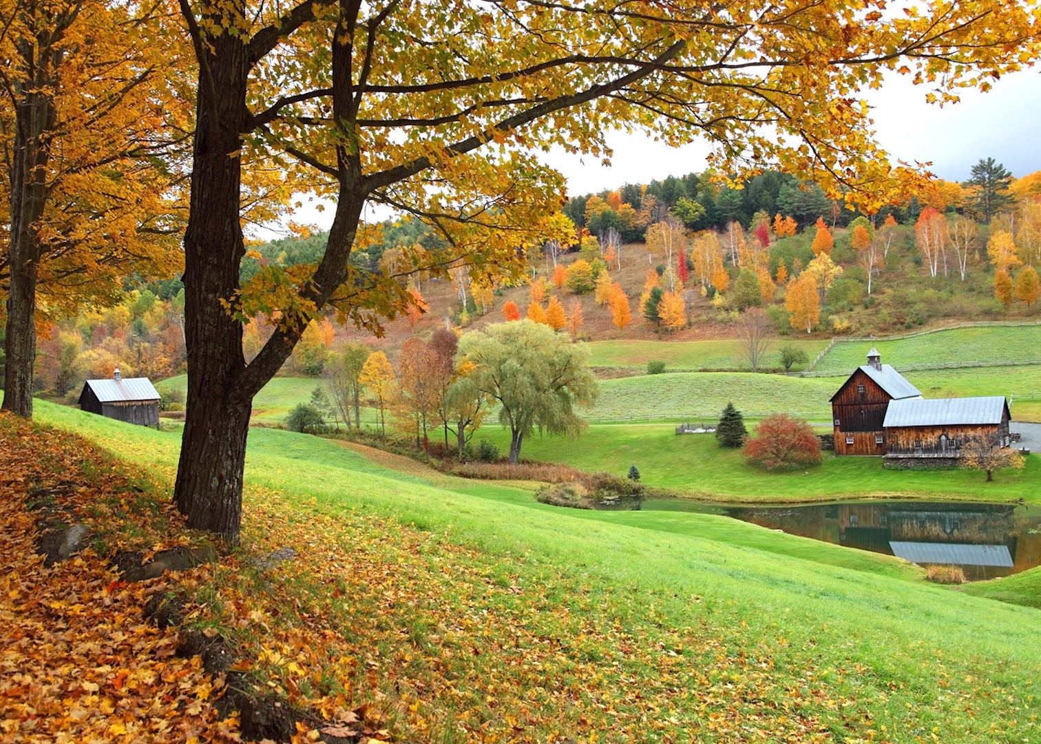 New England Fall Desktop Wallpaper Visit Woodstock On A Trip To New England Audley Travel