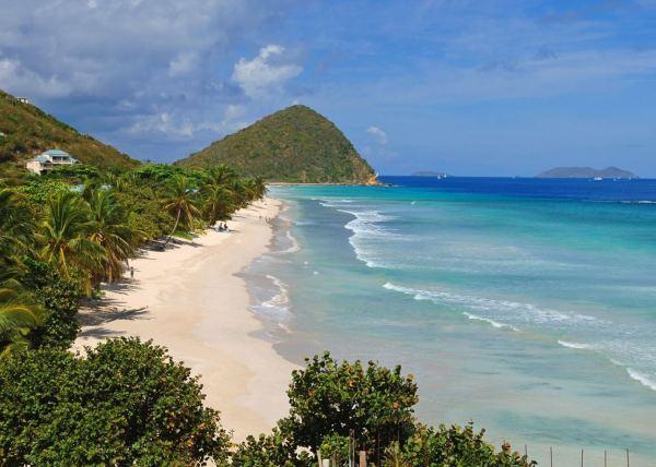 Long Bay Beach Tortola British Virgin Islands