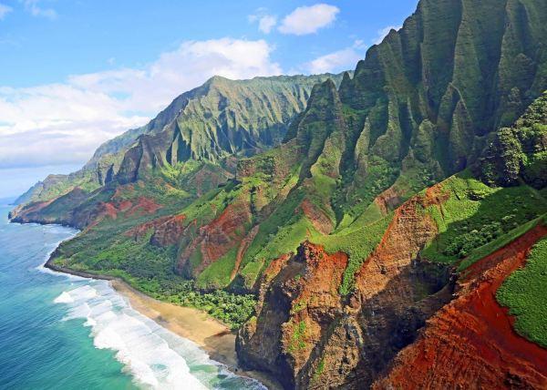 Island of Kauai Hawaii