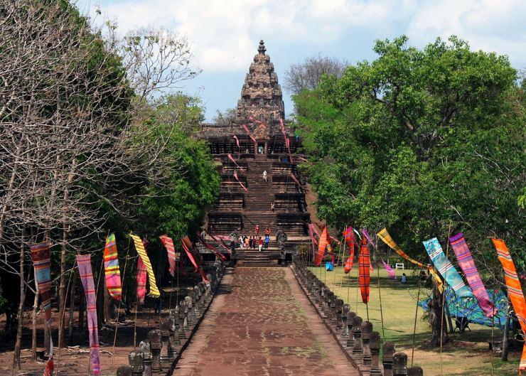 Phanom Rung Sister to Angkor Wat