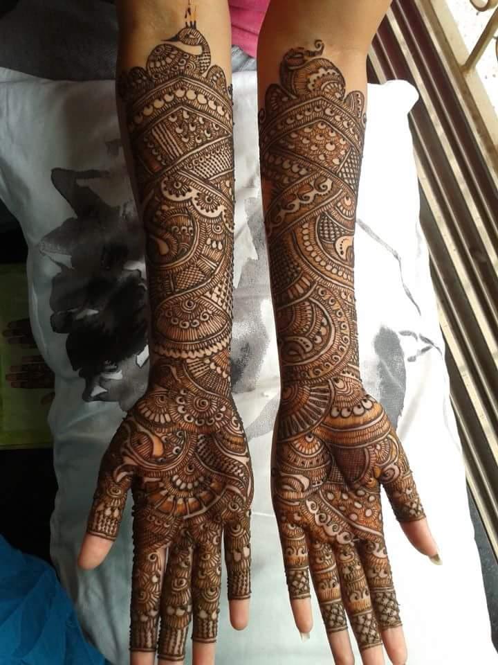 The Best 10 Bridal Mehandi Artists In Chennai