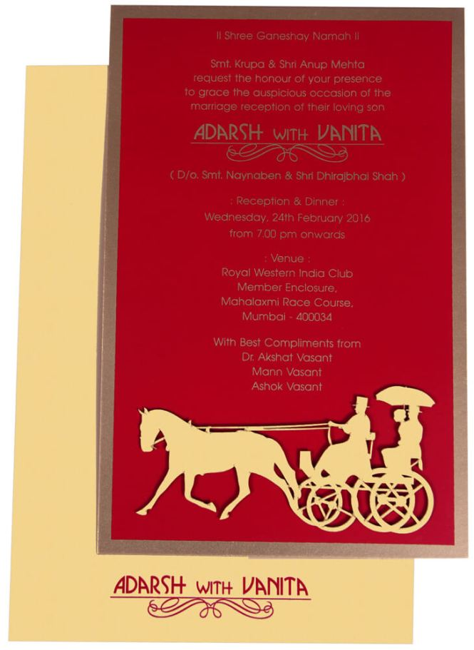 Indian Wedding Invitation Cards Wordings