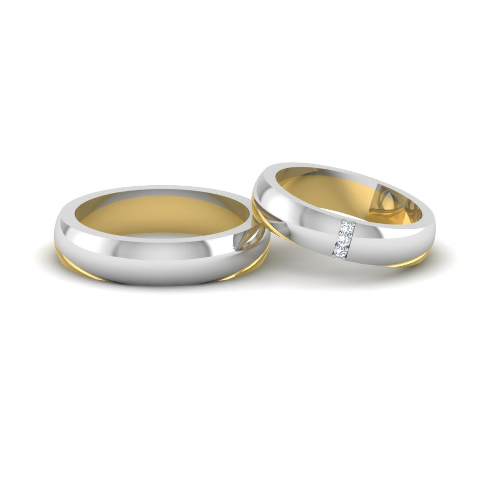 Buy Platinum Couple Rings And Wedding Bands  Platinum
