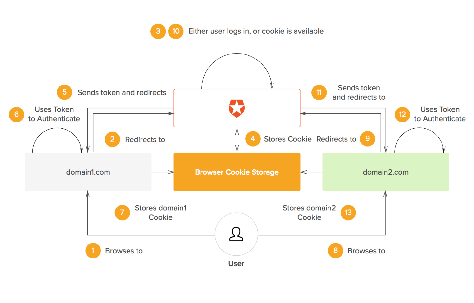 hight resolution of sso with auth0