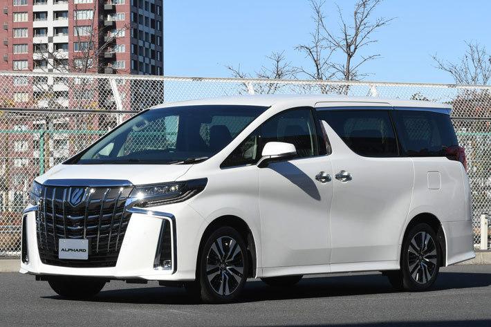 トヨタ 新型アルファード /2018年1月マイナーチェンジモデル