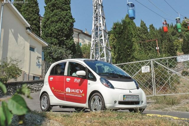 Автопробег на электромобилях по Крыму