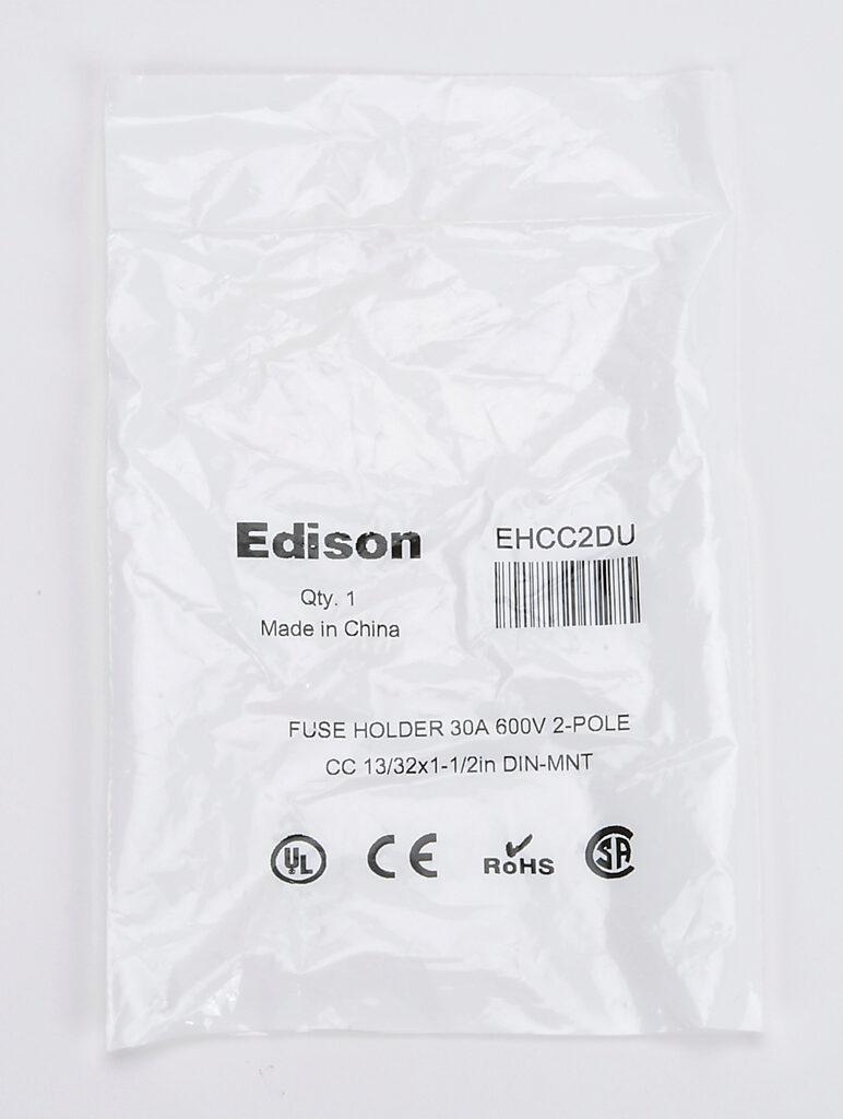 Modular Fuse Holder: 30A, 2-pole (PN# EHCC2DU