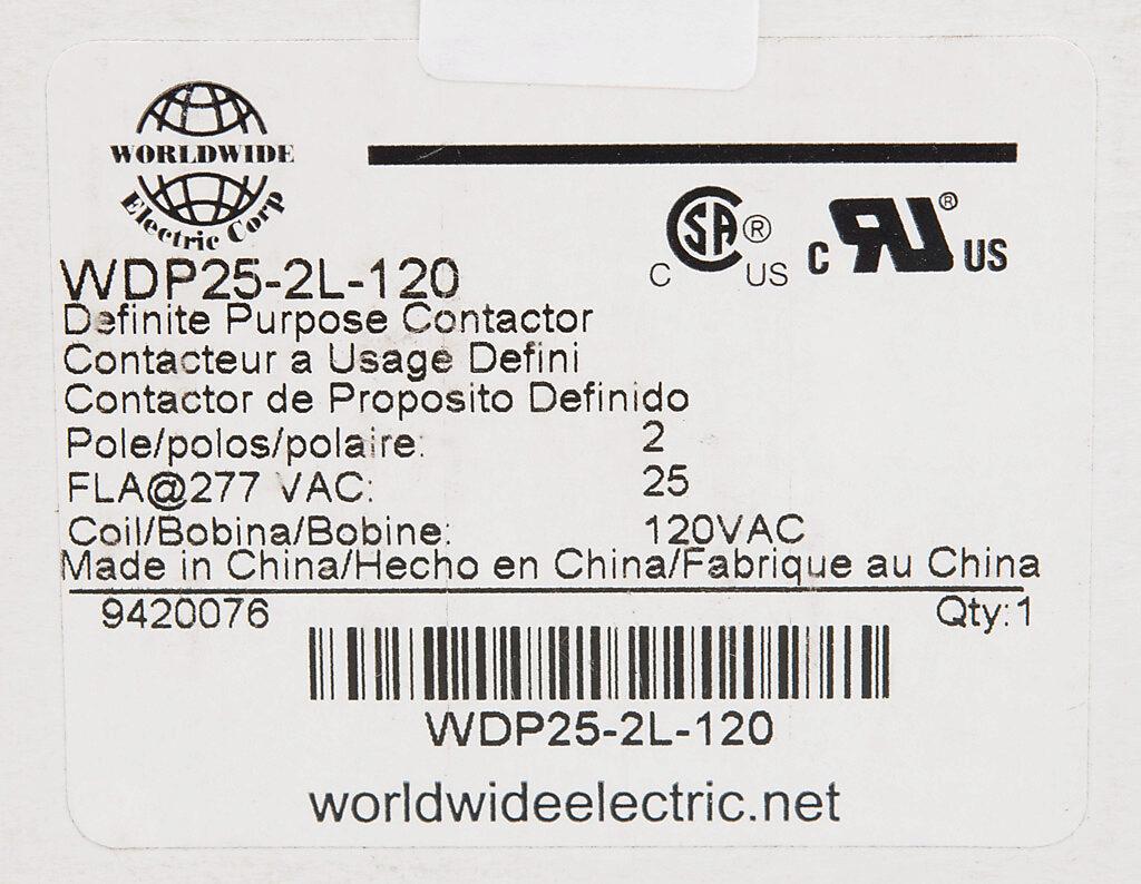 Wdp25 2l 120