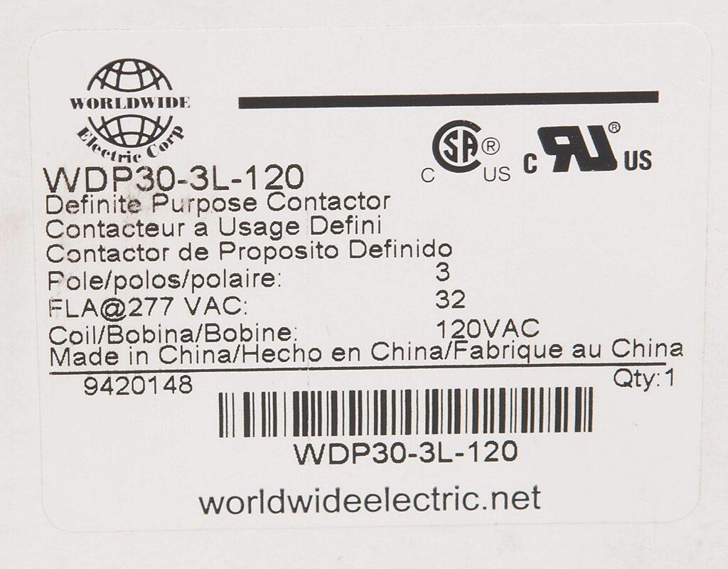 Wdp30 3l 120