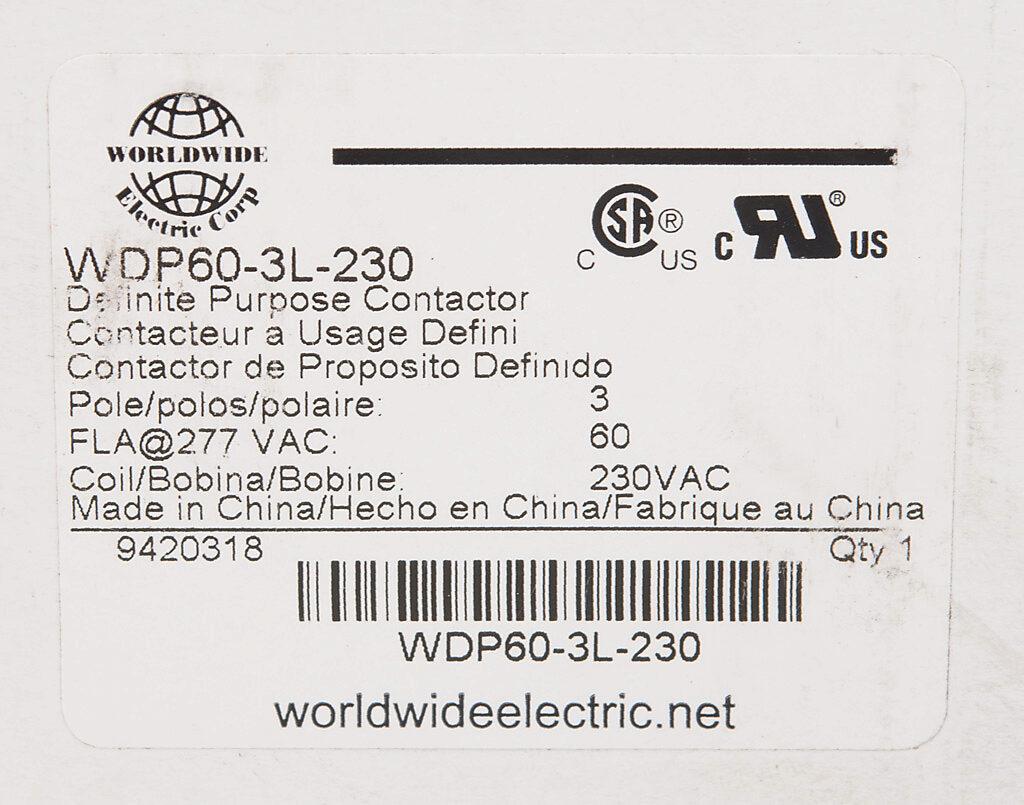 Wdp60 3l 230