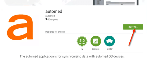 Google Play automed app