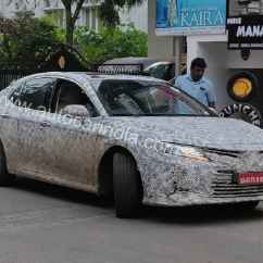 All New Camry India Launch Spesifikasi Yaris Trd 2014 Toyota Spotted Testing In Autoportal