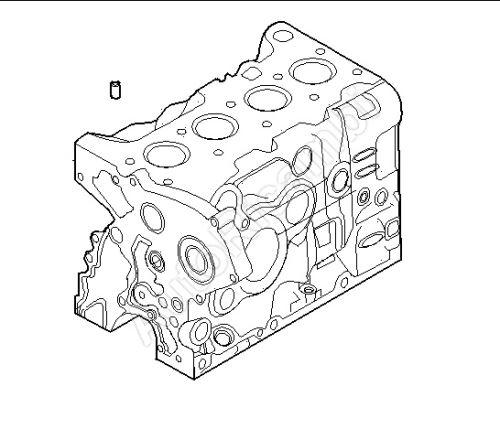 Strediaci kolík hlavy valcov Iveco Daily, Fiat Ducato F1A