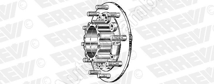 Náboj zadného kolesa Iveco EuroCargo Tector 180E/Stralis