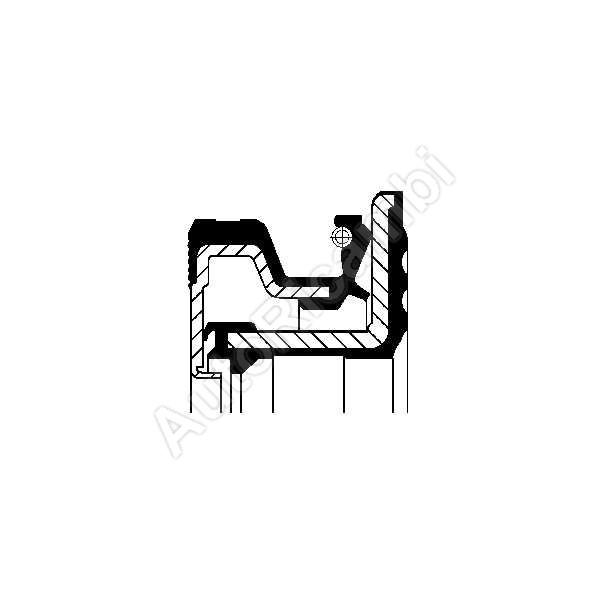 40102283 Rear hub oil seal Iveco TurboDaily 4x4 70x100x13
