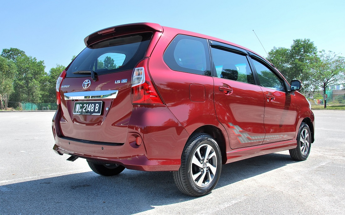 grand new avanza g 1.5 veloz 2015 toyota 1 5s test drive review autoworld com my rear