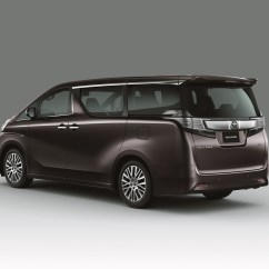 All New Vellfire Alphard Interior Made For Malaysia Toyota And Mpvs Launched