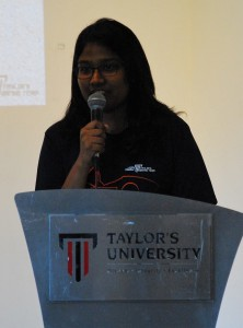 Farah Danial, Taylor's Racing Team Chief Engineer 2016