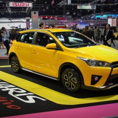 Toyota Yaris Trd All New Camry 2019 Interior Sportivo 33rd Thailand International Motor Expo 2016