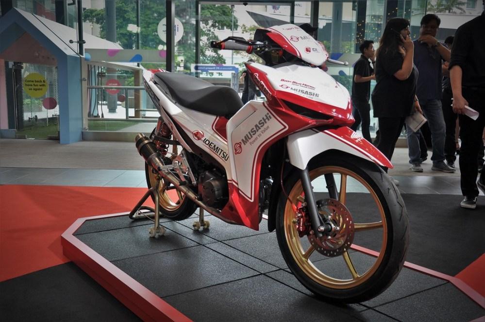 medium resolution of honda dash 125 malaysia boon siew honda