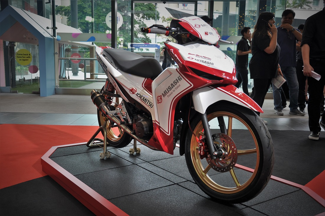 hight resolution of honda dash 125 malaysia boon siew honda