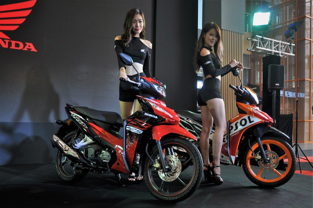 medium resolution of honda dash 125 launch boon siew honda malaysia 2018