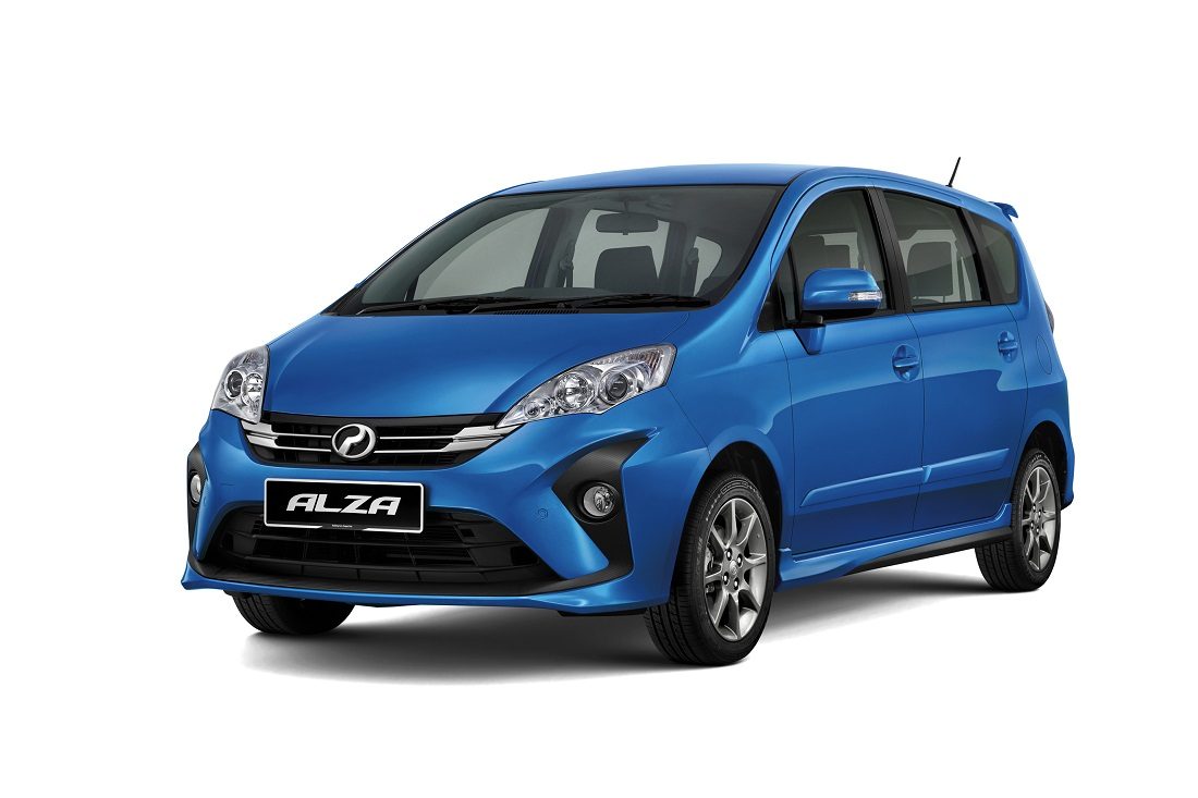 2018 Perodua Alza Facelift Revealed; Four Variants Available - Autoworld.com.my