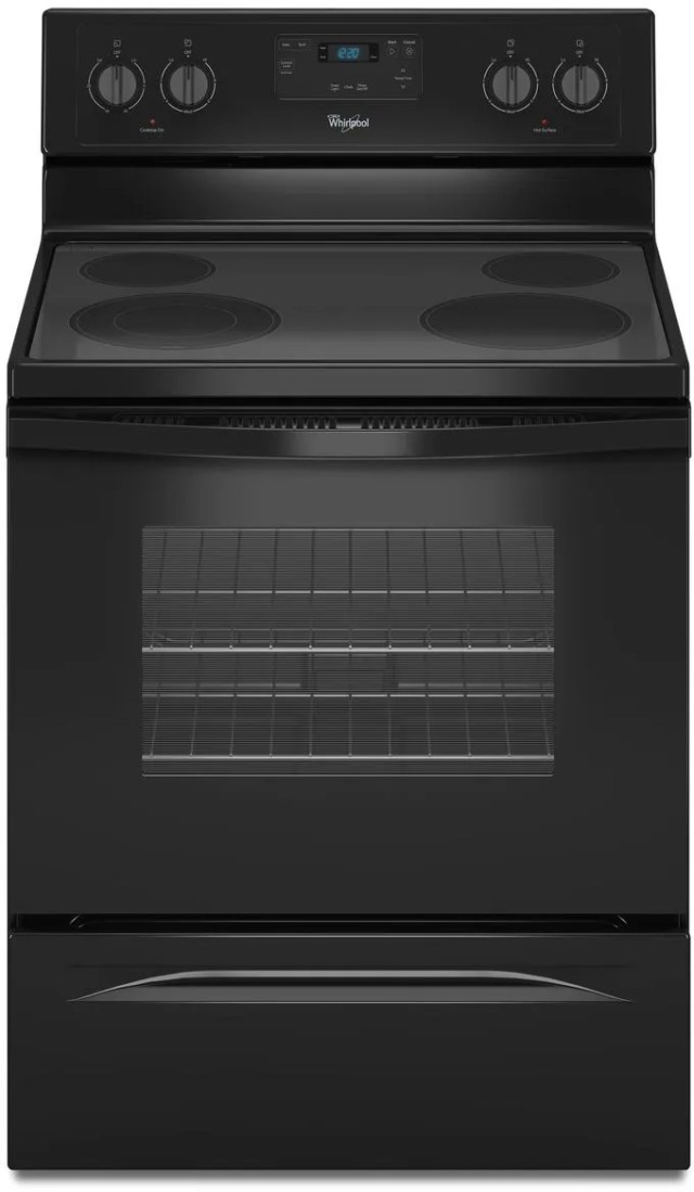 Whirlpool Sf315pepw1 Free Standing Gas Timer Stove Clocks And