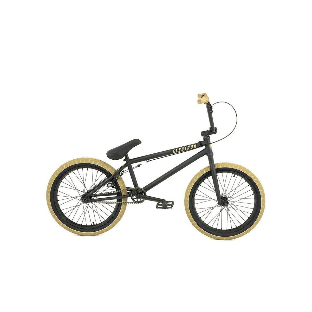 Rower BMX Flybikes Electron 8 Flat Black : Sklep AveBmx