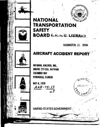ASN Aircraft accident Boeing 727-235 N4744 Escambia Bay, FL