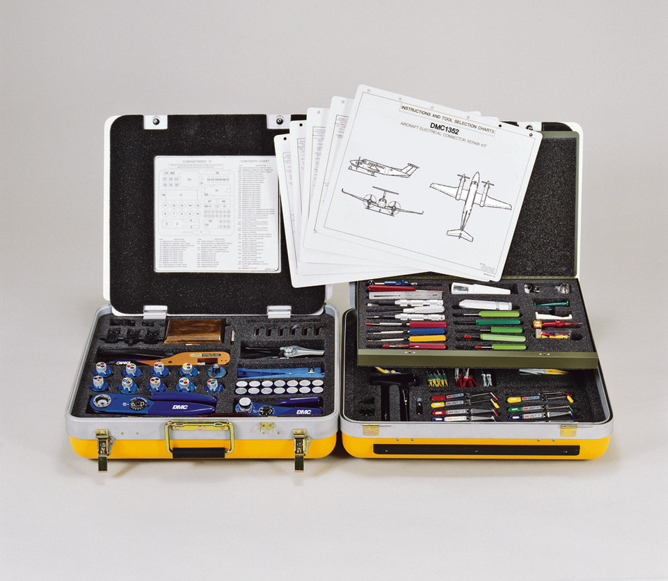 medium resolution of dmc does the research to determine tool selection for aircraft wire harness maintenance and rework dmc wiring maintenance tool kits include detailed tool