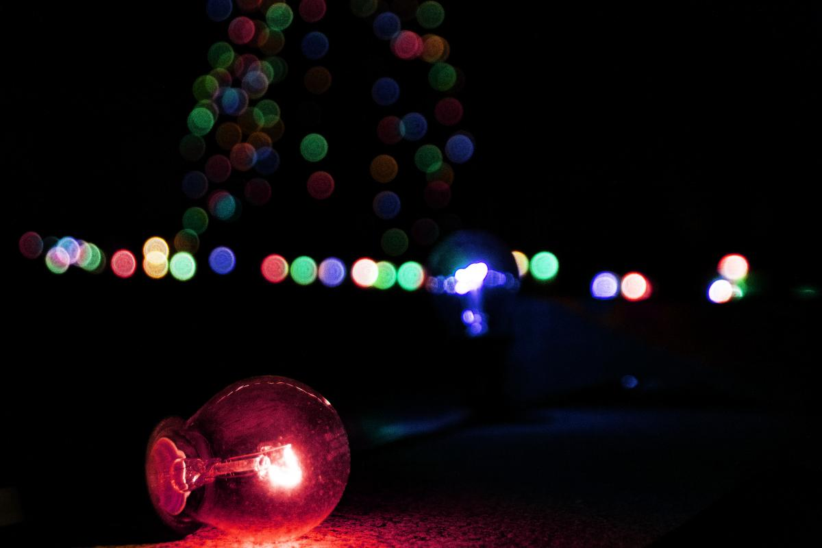 colors string lights free