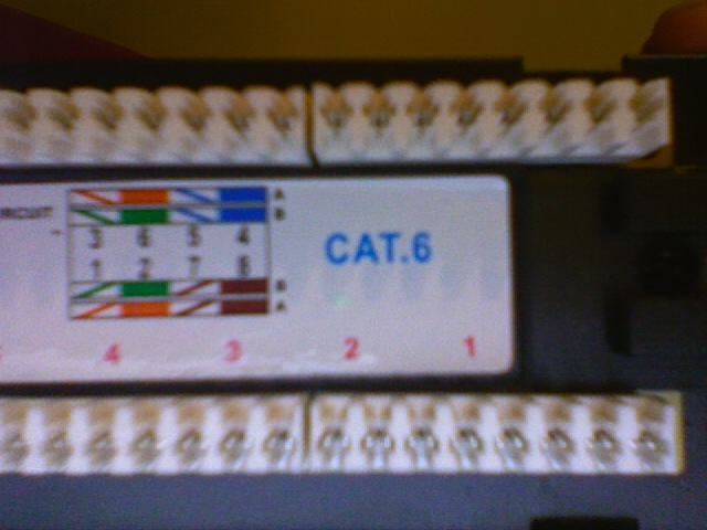 cat 5 wire diagram honeywell thermostat wiring th3210d1004 cat6 patch panel help - avs forum | home theater discussions and reviews