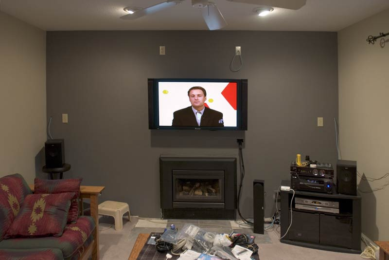 Fireplace Houston Mounting Over Fireplace - Avs Forum | Home Theater