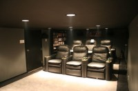 Low Height Basement Theater - 6' Ceiling - AVS Forum ...