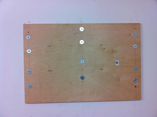 How To Attach Wood To Metal Studs