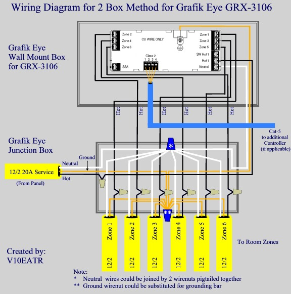 lutron wiring diagram zex nitrous kit just bought a grafik eye - any tricks or suggestions? avs forum | home theater discussions and ...