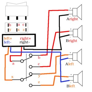 DIY Speaker Switch  AVS Forum | Home Theater Discussions And Reviews