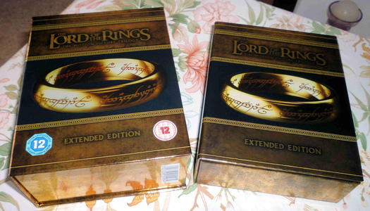The Lord Of The Rings Motion Picture Trilogy Extended