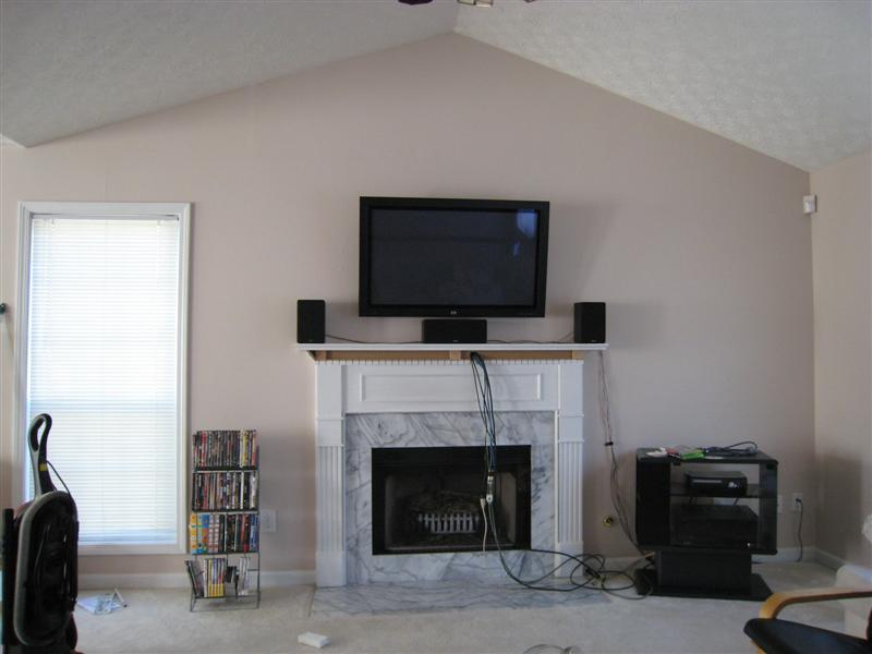 Speaker placement w fireplace mounting pic inside  AVS Forum  Home Theater Discussions