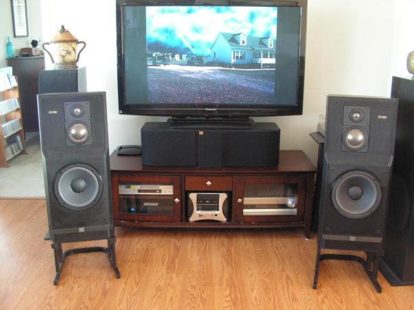 Vintage Cinema Speakers - Year of Clean Water