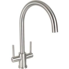 Kitchen Mixers Home Depot Backsplash Taps Mixer At Toolstation Dava Stainless Steel Sink Mono Tap