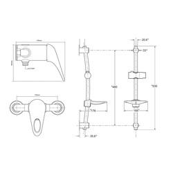 Triton Lima Single Lever Mixer Shower
