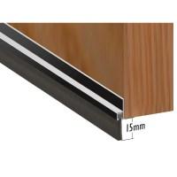 Door Brush Strip Aluminium