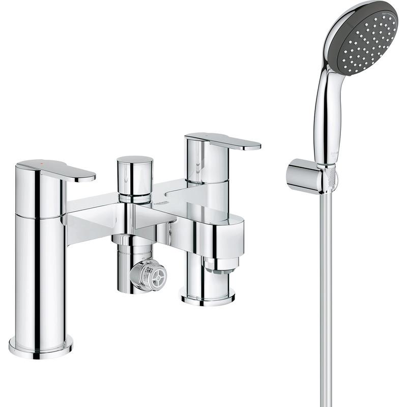 grohe get taps bath shower mixer
