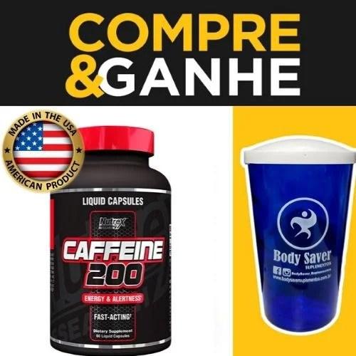 Lipo 6 Caffeine - 200mg - (60caps) - Termogênico - Nutrexx | BodySaver Suplementos - BodySaver Suplementos
