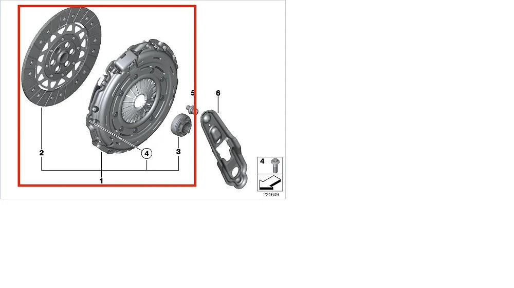 Kit Embreagem Mini Cooper S John Works 1.6 THP R56 R57